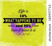 quote typographical poster ... | Shutterstock .eps vector #183957713
