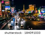 las vegas  nevada usa   august... | Shutterstock . vector #184091033