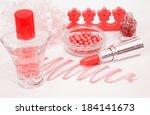 makeup | Shutterstock . vector #184141673