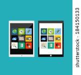 tablet responsive flat ui...