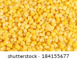 Tasty Yellow Grains Of Corn....