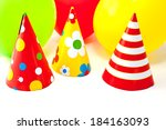 birthday party  | Shutterstock . vector #184163093