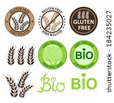 agriculture,allergy,badge,bio,bread,care,celiac,cereal,collection,commerce,concept,design,diet,disease,element
