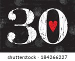 30,30th,abstract,anniversary,art,background,birth,birthday,black,card,celebration,chalk,color,date,day