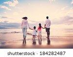 happy young family having fun... | Shutterstock . vector #184282487