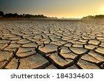 drought land so long waterless | Shutterstock . vector #184334603