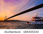 Bosphorus Bridge In Istanbul ...