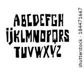 black type. | Shutterstock .eps vector #184471667