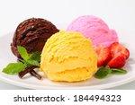 Ice Cream Decorated Vanilla ...