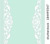 green background with white... | Shutterstock .eps vector #184495547