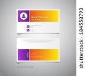 modern simple design business...