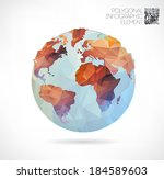 vector world globe  3d...