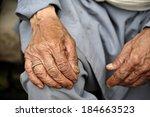 old hands | Shutterstock . vector #184663523