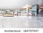 interior of shoppingmall | Shutterstock . vector #184707047