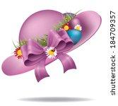 Easter Bonnet Eps 10 Vector ...