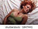 sexy brunette woman | Shutterstock . vector #1847441