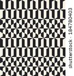 seamless vector geometric... | Shutterstock .eps vector #184780403