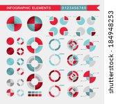 set of infographic elements.... | Shutterstock .eps vector #184948253