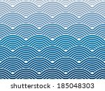 colorful geometric seamless...   Shutterstock .eps vector #185048303