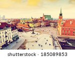 old town in warsaw | Shutterstock . vector #185089853