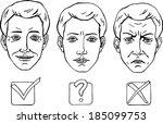 hand drawn  vector  sketch ... | Shutterstock .eps vector #185099753