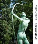 Archer Statue In Sanssouci Par...