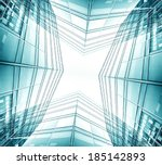 panoramic and prospective wide... | Shutterstock . vector #185142893