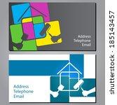 design business cards for...   Shutterstock .eps vector #185143457