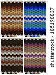 multi colored polka dot pattern ... | Shutterstock .eps vector #185198837