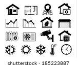 real estate icons set 06 smart...