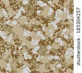 Desert sand vector seamless camo. 200+ camo textures in my portfolio.  - stock vector