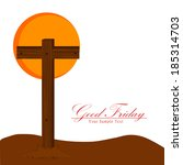 good friday background with