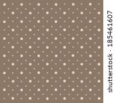 abstract geometric polka dot... | Shutterstock .eps vector #185461607
