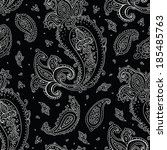 Seamless Paisley Background....