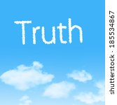 Truth  Cloud Icon With Design...