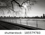 black and white photograph of... | Shutterstock . vector #185579783