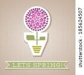motivation list design with... | Shutterstock .eps vector #185624507
