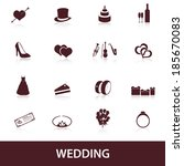 wedding icons eps10