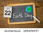 earth day  april 22 | Shutterstock . vector #185696957