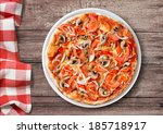 Pizza With Paprika And...