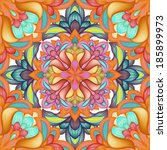 Abstract Kaleidoscope Seamless...