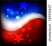 4th july  american independence ... | Shutterstock .eps vector #185920637
