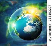 global sustainable development... | Shutterstock . vector #186103277