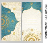 vintage ornate cards with...