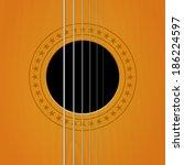 Vector Guitar Sound Hole...