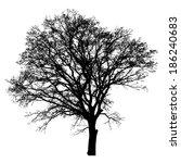 tree vector illustration. | Shutterstock .eps vector #186240683