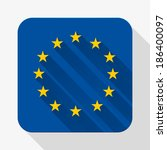 simple flat icon europe union...
