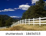 a rural colorado country scenic ... | Shutterstock . vector #18656515