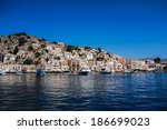 simi island in greece | Shutterstock . vector #186699023