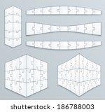 piece jigsaw puzzle template